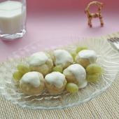 Кнедлики чешские из творога с виноградом