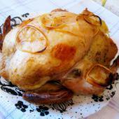Курица с рисом и овощами, запеченная в рукаве
