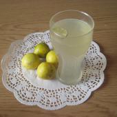 Летний напиток из лайма с мятой