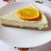 Лимонно-ванильный чизкейк