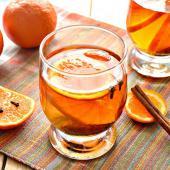 Мандариновый напиток с корицей