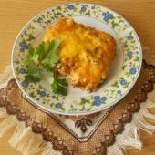 Мясо по-французски в сковороде гриль
