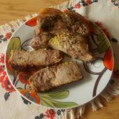 Мясо, запеченное в духовке в рукаве