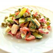 Огуречный салат-коктейль