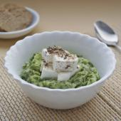 Огуречный суп-крем с фетой по-гречески