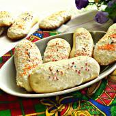 Печенье Савоярди с посыпкой