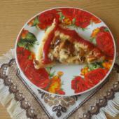 Пицца с сосисками