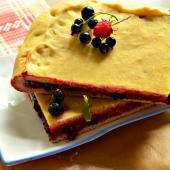 Пирог с ягодным миксом