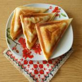 Пирожки с фаршем в бутерброднице
