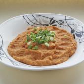 Постный крем-суп с арахисом