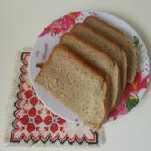 Пшенично-ржаной хлеб с какао в хлебопечке