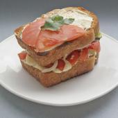 Сабиах - арабский сэндвич с кальмаром