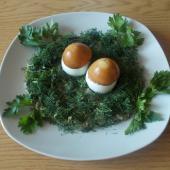 Шпротная закуска Грибочки