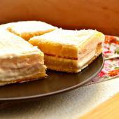 Сливочный торт «Белая лилия»