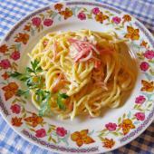 Спагетти с соусом карбонара