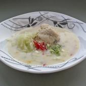 Тайский куриный суп на кокосовом молоке (Том ям гай)