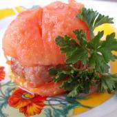 Томатбургер (котлета с помидором)