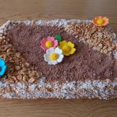 Торт с кремом из вареной сгущенки