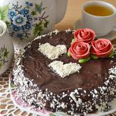 Торт с сырным кремом