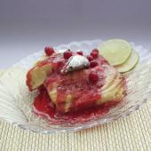 Торт Вязанка Хвороста с клюквенным кремом