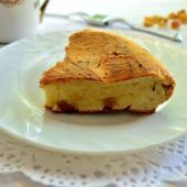 Творожный торт с изюмом