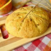 Тыквенный сладкий хлеб