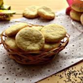 Ванильное печенье с маком