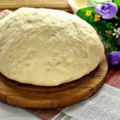 Ванильное тесто для сдобных булочек