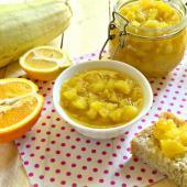 Варенье из кабачков, апельсина и лимона