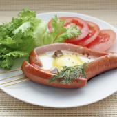 Яичница по-баварски