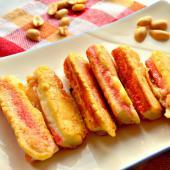 Крабовые палочки в арахисовом кляре