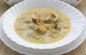 Чешский острый сырный суп