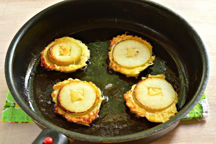 рецепт драников из яблок