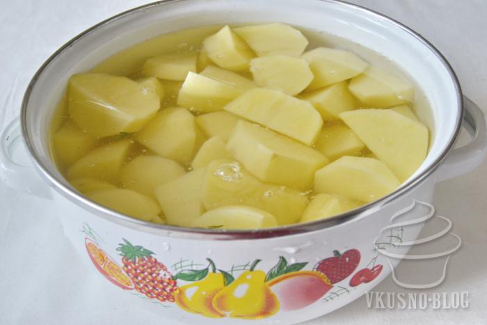 Картошка пюре как готовить