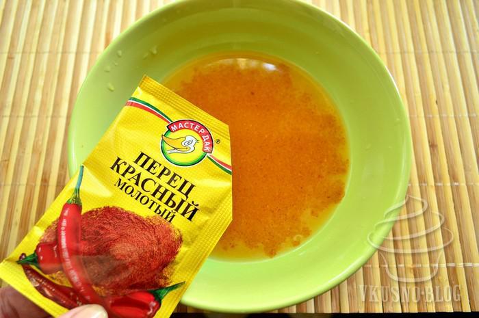рецепт курицы в духовке с апельсиновым соусом