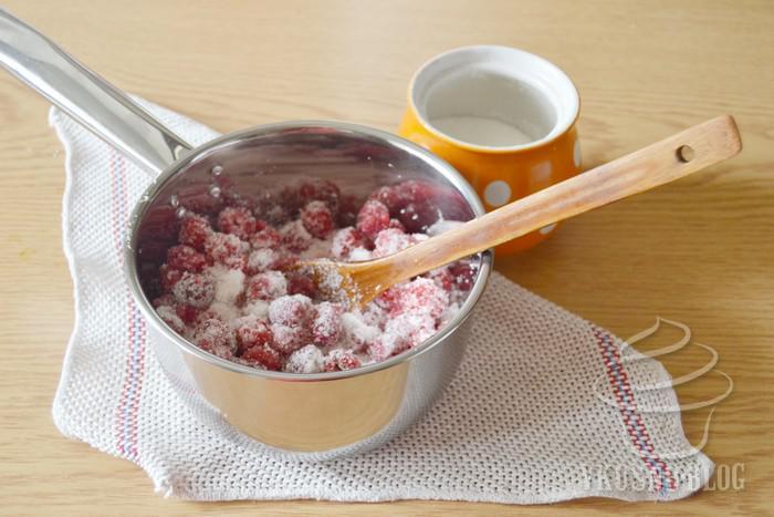 Сколько сахара нужно в малиновое варенье