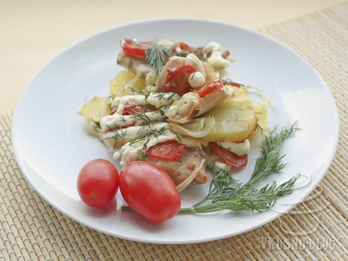 Мясо по-французски в духовке: рецепт с фото