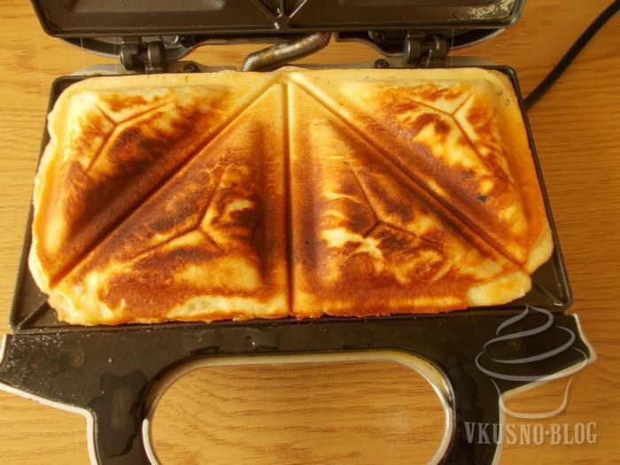 как приготовить пирожки в бутерброднице