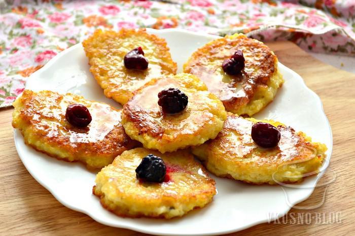 сладкие оладушки рецепт с фото