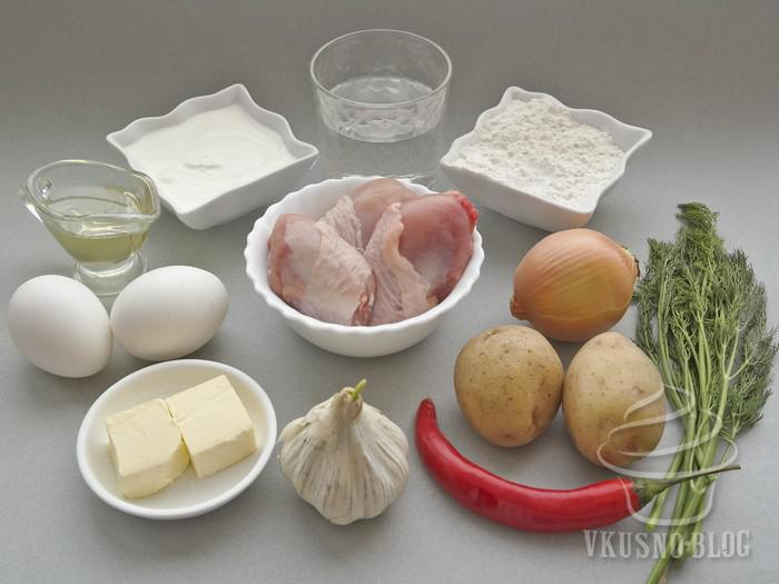 Элеш с курицей рецепт
