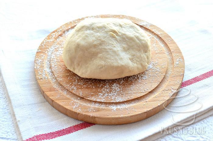 тесто дрожжевое для пиццы с оливковым маслом